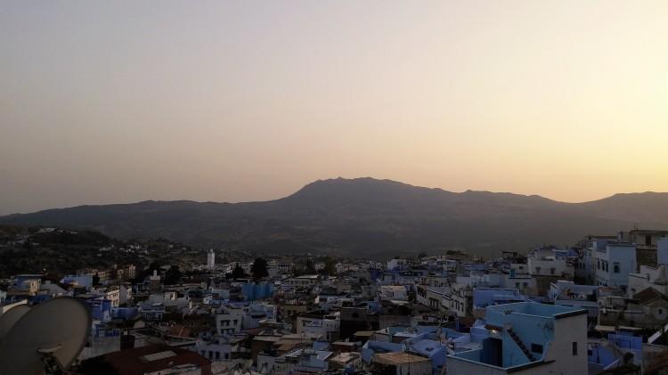 Coucher de soleil - Chefchaouen Maroc - Marie Royer - Culture Frenzy Le Mag