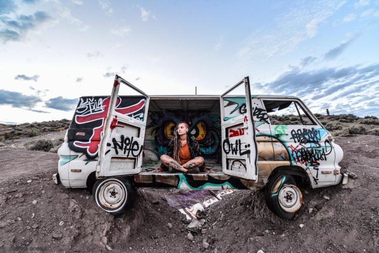 Culture Frenzy - Road Trip US - Cimetière de voitures 2017